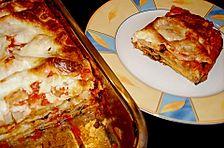 Auberginen - Lasagne