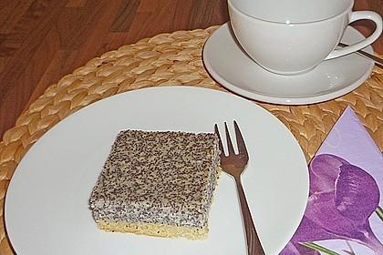 Leckerer Mohnkuchen mit Grieß 8
