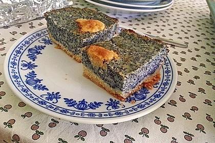 Leckerer Mohnkuchen mit Grieß 9