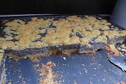 Leckerer Mohnkuchen mit Grieß 15
