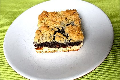 Leckerer Mohnkuchen mit Grieß 11