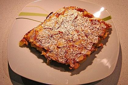 Blechpfannkuchen mit Äpfeln