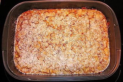 Blechpfannkuchen mit Äpfeln 1