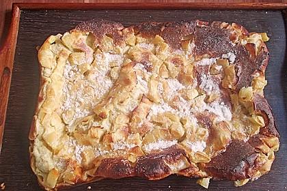 Blechpfannkuchen mit Äpfeln 3