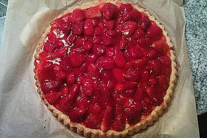 Obsttorte mit Erdbeeren 1