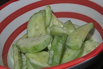 Gurkensalat 7