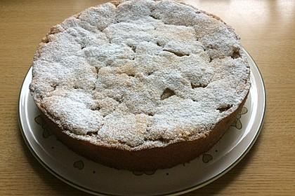 Apfeltorte / Apfelkuchen mit Apfelmus 12