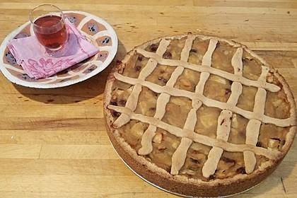 Apfeltorte / Apfelkuchen mit Apfelmus 21