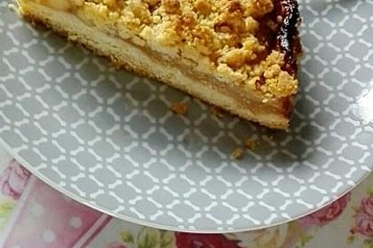 Apfeltorte / Apfelkuchen mit Apfelmus 48