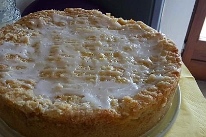 Apfeltorte / Apfelkuchen mit Apfelmus 4