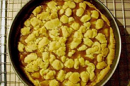 Apfeltorte / Apfelkuchen mit Apfelmus 53