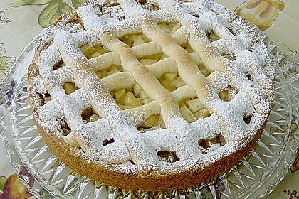 Apfeltorte / Apfelkuchen mit Apfelmus 1