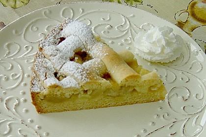 Apfeltorte / Apfelkuchen mit Apfelmus 37