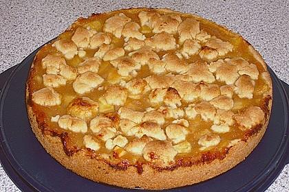 Apfeltorte / Apfelkuchen mit Apfelmus 26
