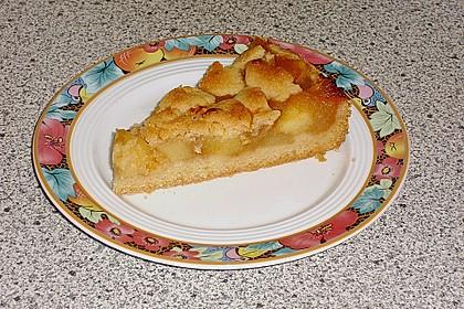 Apfeltorte / Apfelkuchen mit Apfelmus 22