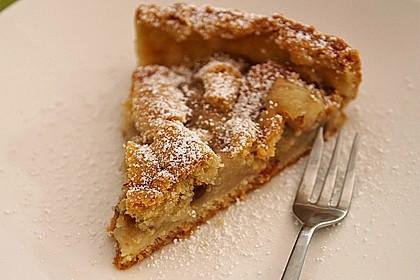 Apfeltorte / Apfelkuchen mit Apfelmus 27