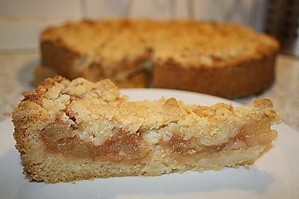 Apfeltorte / Apfelkuchen mit Apfelmus 40