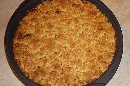 Apfeltorte / Apfelkuchen mit Apfelmus 43