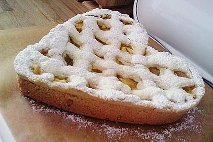 Apfeltorte / Apfelkuchen mit Apfelmus 18