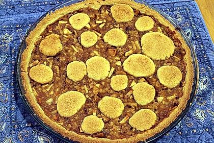 Apfeltorte / Apfelkuchen mit Apfelmus 51
