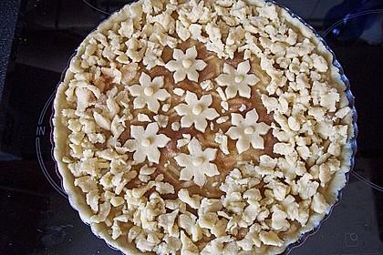Apfeltorte / Apfelkuchen mit Apfelmus 5