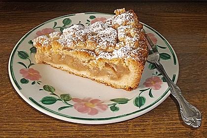 Apfeltorte / Apfelkuchen mit Apfelmus 25