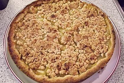 Apfeltorte / Apfelkuchen mit Apfelmus 50