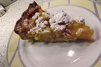 Apfeltorte / Apfelkuchen mit Apfelmus 52