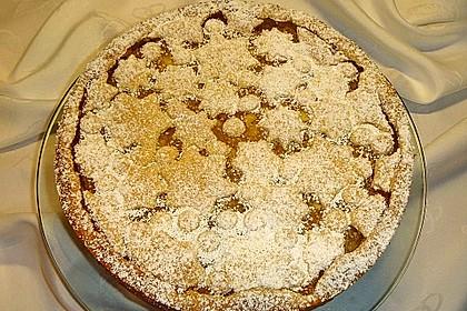 Apfeltorte / Apfelkuchen mit Apfelmus 28