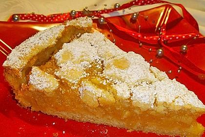Apfeltorte / Apfelkuchen mit Apfelmus 29