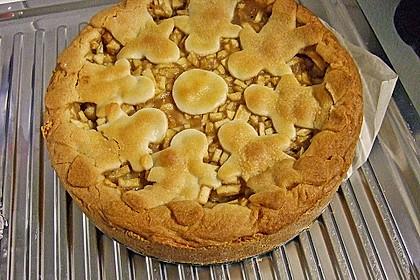 Apfeltorte / Apfelkuchen mit Apfelmus 31