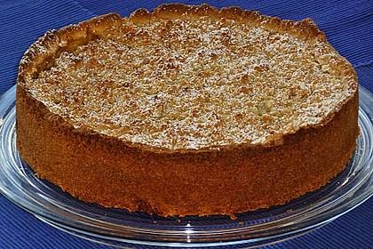 Apfeltorte / Apfelkuchen mit Apfelmus 15