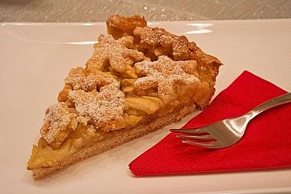 Apfeltorte / Apfelkuchen mit Apfelmus 7