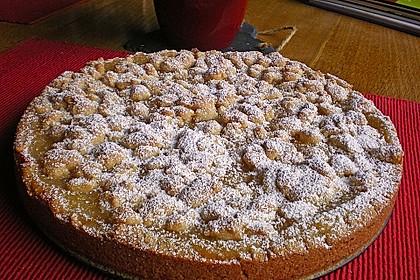 Apfeltorte / Apfelkuchen mit Apfelmus 3