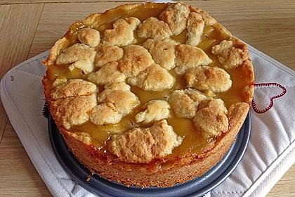Apfeltorte / Apfelkuchen mit Apfelmus 11