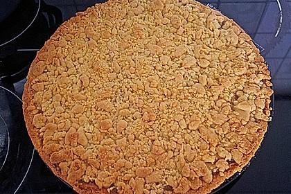 Apfeltorte / Apfelkuchen mit Apfelmus 9