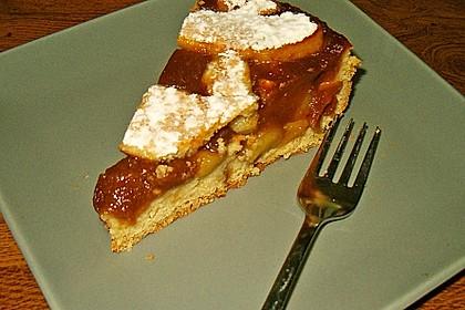 Apfeltorte / Apfelkuchen mit Apfelmus 44