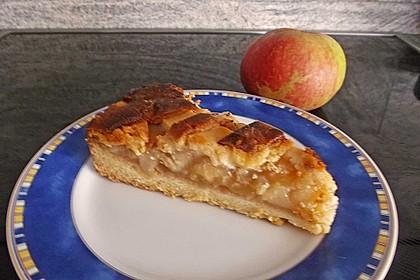 Apfeltorte / Apfelkuchen mit Apfelmus 46