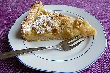 Apfeltorte / Apfelkuchen mit Apfelmus 6