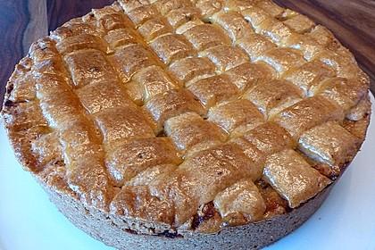 Apfeltorte / Apfelkuchen mit Apfelmus 34