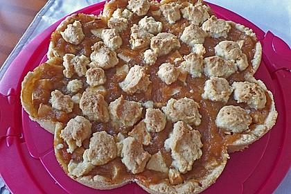 Apfeltorte / Apfelkuchen mit Apfelmus 33