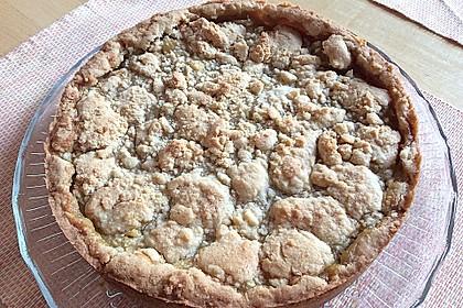 Apfeltorte / Apfelkuchen mit Apfelmus 30