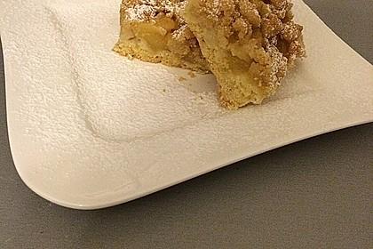 Apfeltorte / Apfelkuchen mit Apfelmus 35