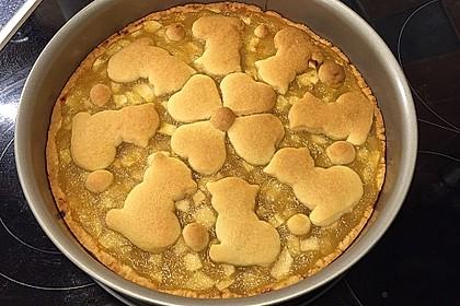 Apfeltorte / Apfelkuchen mit Apfelmus 36
