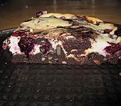 Blaubeer - Käsekuchen - Brownies (Bild)
