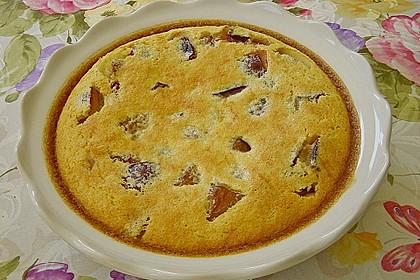 Gebackener Zwetschgen - Pudding 5