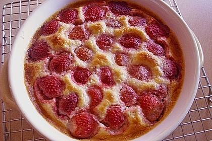 Gebackener Zwetschgen - Pudding 13