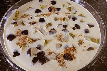 Gebackener Zwetschgen - Pudding 24