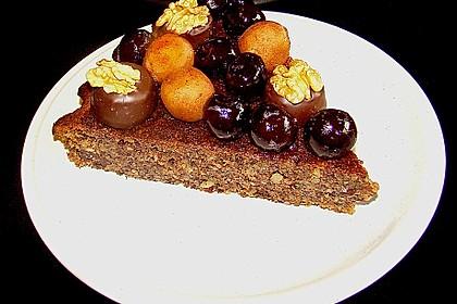 Amarenakirschen - Kastanien - Torte