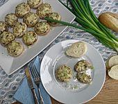 Gefüllte Champignons mit Crème fraîche